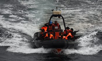 Navy intercepts 162 bags of suspected smuggled rice in Lagos offshore