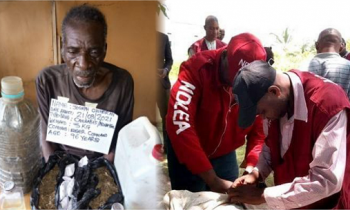 A 96-year-old Retired Military Officer, With 50 Children Arrested for Drug Trafficking